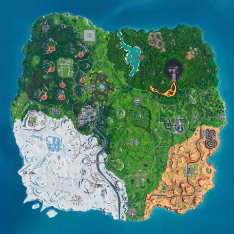 Mapa Turbinas Fortnite