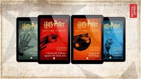 Nuevos e-Books de Harry Potter