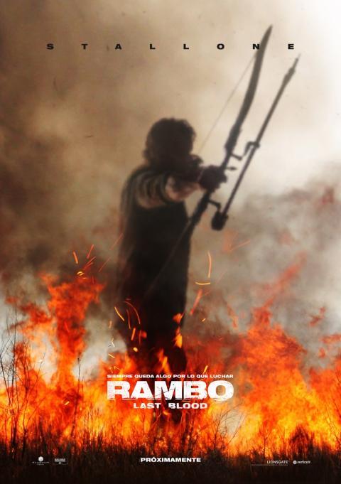 Rambo Last Blood - Póster español de la última entrega de la saga