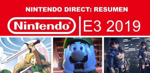 Resumen Nintendo Direct E3 2019