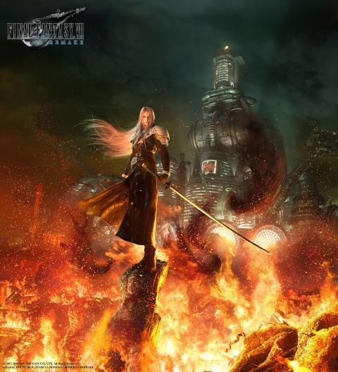 Sephiroth Final Fantasy VII Remake
