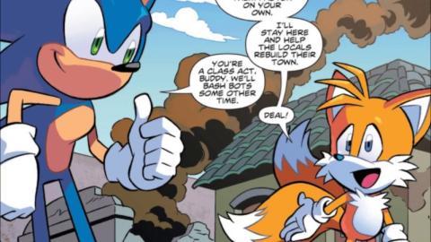 Sonic The Hedgedhog - Cómic
