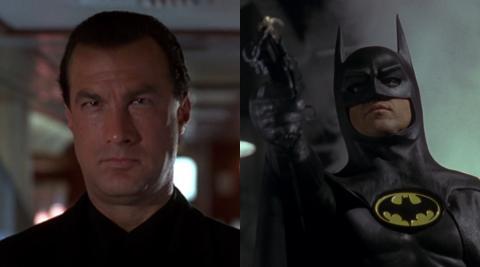 Steven Seagal estuvo a punto de convertirse en Batman