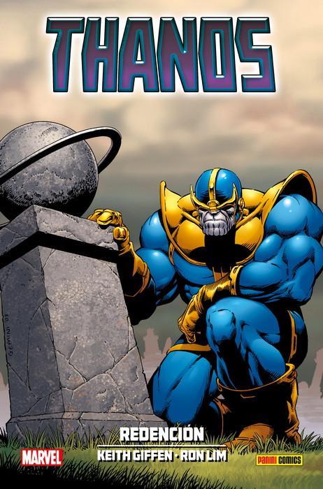Thanos: Redención - Portada