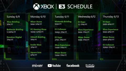 Xbox Nintendo E3 2019