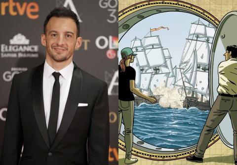 Alejandro Amenábar adaptará el cómic El tesoro del Cisne Negro en una serie de televisión