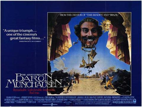 Las aventuras del barón Munchausen (1988)