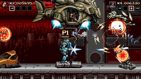 Blazing Chrome Nintendo Switch