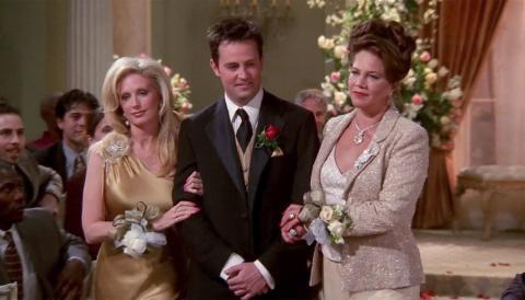 Friends - Chandler y sus padres