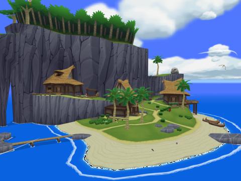 Isla Initia Wind Waker