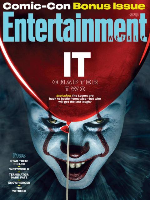 It Capitulo 2 - Entertainment Weekly portada
