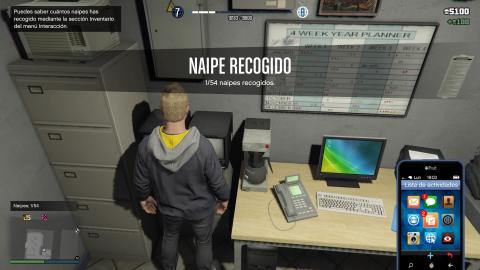 GTA Online localización 54 naipes