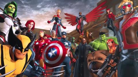 Mavel Ultimate Alliance 3 Apertura