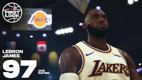 NBA 2K20 Lebron