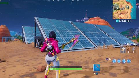 Solar panels Fortnite