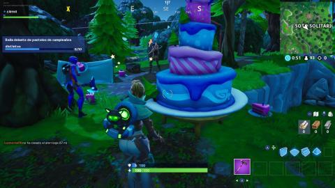 Pasteles de Cumpleaños Fortnite
