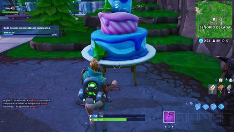 Pasteles de Cumpleaños Fortnite 2019