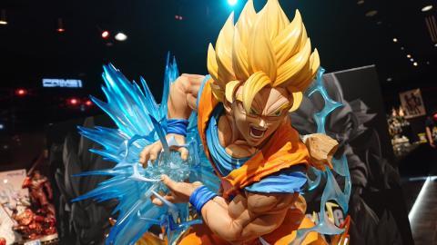 Resina oficial de Goku