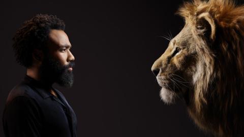 El Rey León - Donald Glover y Simba