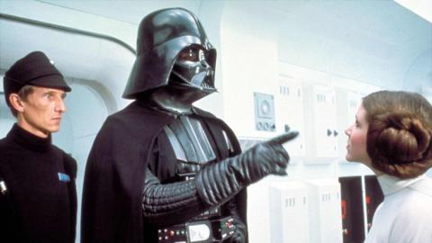 Star Wars - Darth Vader y Leia