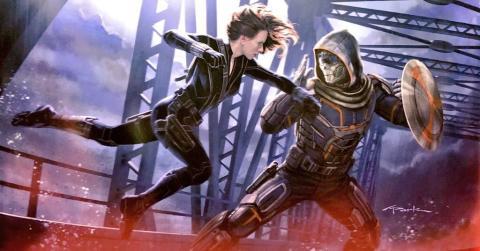 Viuda Negra- Taskmaster concept art
