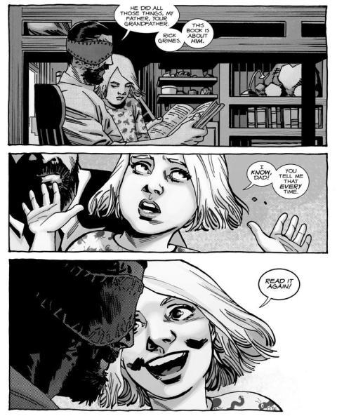 The Walking Dead cómic 193