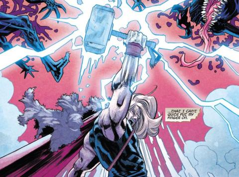 War of the Realms - Thor y Mjolnir