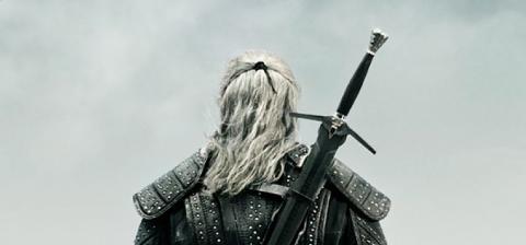 The Witcher Netflix - Geralt poster