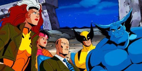 X Men serie de animación