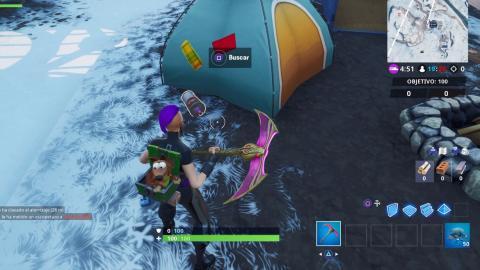 Botes spray perdidos Fortnite