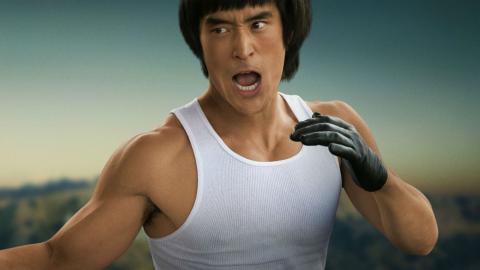 Bruce Lee en Érase una vez... en Hollywood