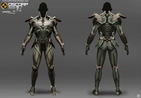 Diseños alternativos del Duende Verde para The Amazing Spider-Man 2