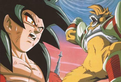 Dragon Ball GT - Las notas de las sagas