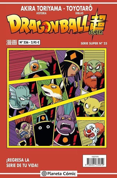 Dragon Ball Super Serie Roja 25