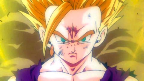 Dragon Ball Z - La transformación de Gohan en castellano