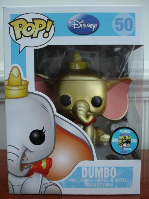 Dumbo dorado Funko Pop