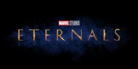 Los Eternos - Logo pelicula 2020