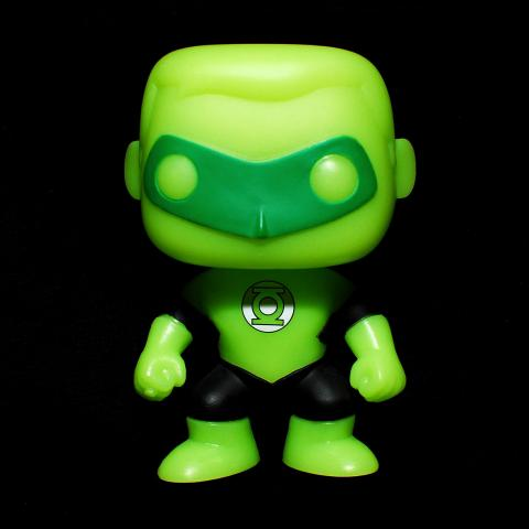 Green Lantern que brilla en la oscuridad