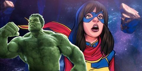 Hulk y Ms Marvel