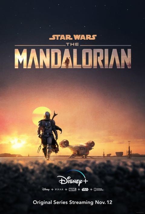 The Mandalorian póster