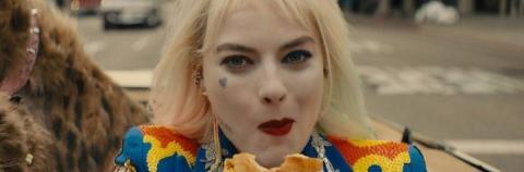 Margot Robbie como Harley Quinn en Birds of Prey