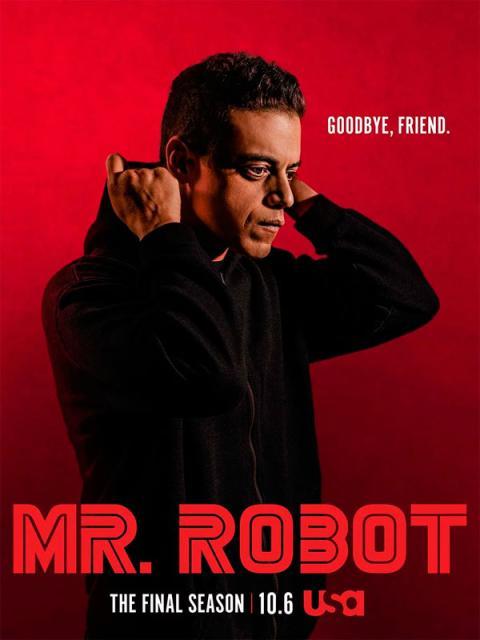 Mr Robot - Póster de la cuarta y última temporada de la serie