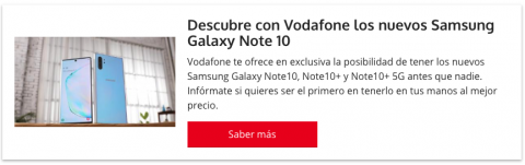 Samsung Galaxy Note 10 reserva
