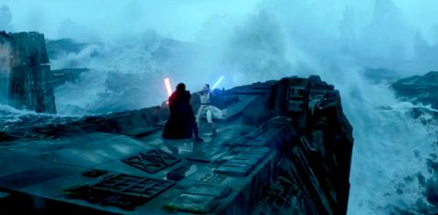 Star Wars El Ascenso de Skywalker - Rey y Kylo Ren