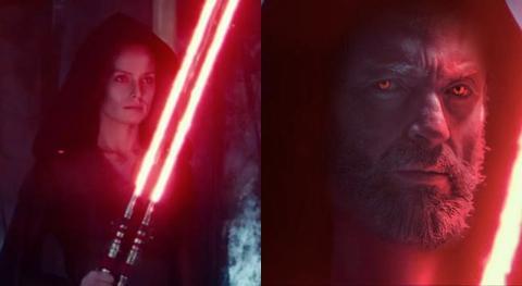 """Star Wars Episodio 9 - Convierten a """"Rey Oscura"""" en """"Lobezno Oscuro"""""""