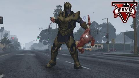 GTA V mod Thanos