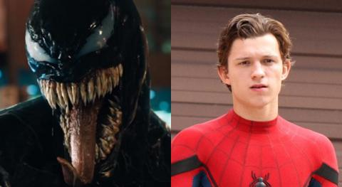 Venom - Tom Holland grabó una escena que Disney censuró