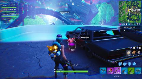 Location of Joker gas tank on Fortnite