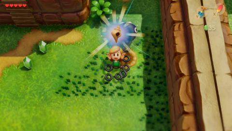 Caracolas en The Legend of Zelda Link's Awakening