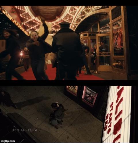 Comparativa escenas Joker y Batman v Superman